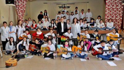 San Pedro: Finocchiaro inauguró un nuevo Jardín de infantes