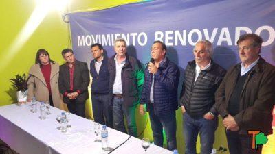 """Vaudagna inauguró la """"Perón Vive"""" junto al Pato Galmarini y afirmó que va por el PJ platense"""