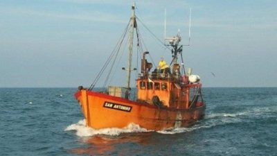 Se hundió un barco pesquero cerca de Mar del Plata: Tres muertos y dos desaparecidos
