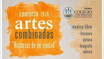 El Colegio de Escribanos bonaerense convoca a un Concurso de Artes Combinadas