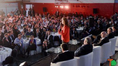 """Vidal: """"Acá hay un equipo, esa es la diferencia con al resto del sistema político de la Argentina"""""""