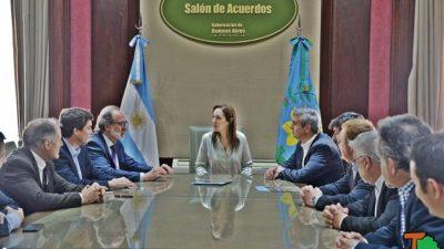 San Antonio de Areco / Durañona firmó convenio con Vidal por obras de cloacas y agua potable