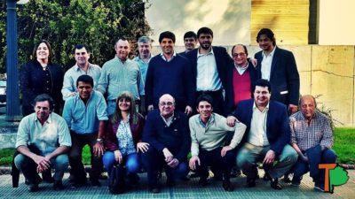 García de Luca el alfil de Frigerio en la provincia, reunió intendentes de la 5ta y 7ma sección electoral