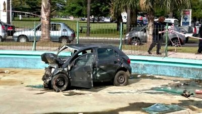El ex yerno de Estela de Carlotto falleció en La Plata al chocar contra una fuente de agua