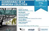 """El libro """"Guardianes de la memoria Colectiva"""" será presentado en la Casa por la identidad"""