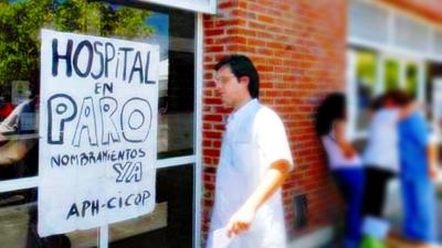 Médicos bonaerenses comenzaron un nuevo paro de tres días