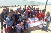 Chicos de Mendoza conocieron el mar en Necochea