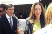 Con la visita a Lezama, Vidal ya recorrió 110 municipios desde que asumió como Gobernadora