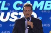 """Ganancias / Massa: """"Si el proyecto del gobierno sale como está, más trabajadores van a pagar ganancias"""""""