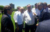 Méndez y De La Torre dialogaron con el presidente Macri por nuevas obras para el distrito