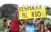 Vecinos y pueblos originarios plantan una casilla para defender Punta Querandí