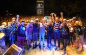 Más de 15.000 personas disfrutaron del espectáculo de Los Auténticos Decadentes en los carnavales de Hurlingham