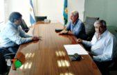 Villegas / El intedente Campana consiguió 60 millones de pesos para obras en el distrito