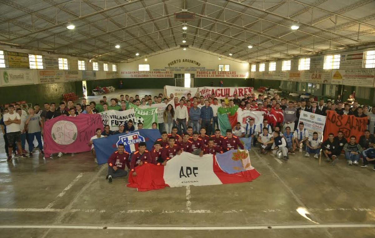 En Esteban Echeverría comenzó el Torneo Sudamericano de Futsal