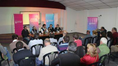 Junín / El ministro Sarquis analizó la situación hídrica junto a productores rurales