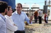 La Plata / Garro encabezó la inauguración de la primera planta de aceite de soja en la ciudad