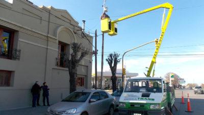 Necochea / López busca que sea la ciudad con más cámaras por habitante en la provincia