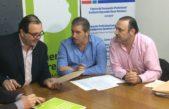 El titular del OPDS firmó un convenio de cooperación con la Federación de Químicos y Petroquímicos