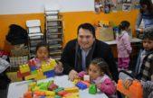 Gral Rodríguez / El intendente Kubar inauguró la renovación de un jardín en el barro Agua de Oro