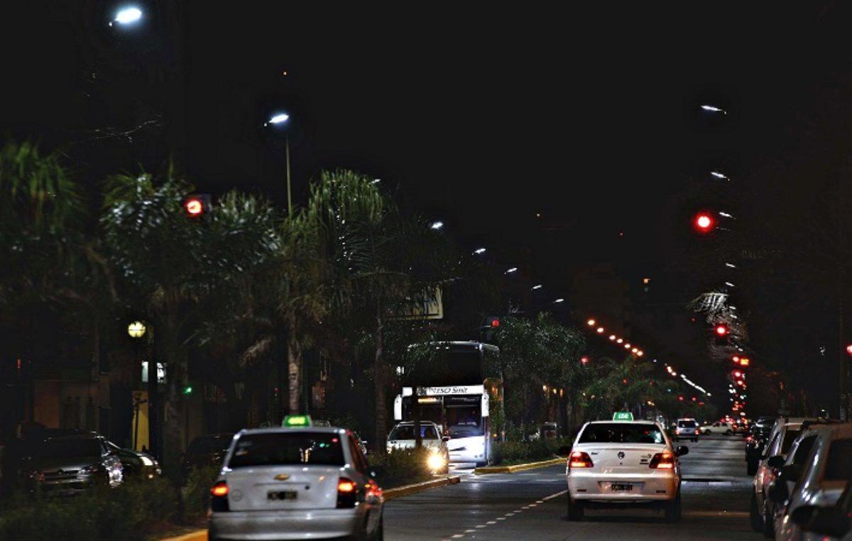 La Plata / Avanza la modernización de la luminaria pública con tecnología LED