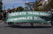 Paro de Municipales de Berisso en el Juzgado de Faltas, Recolección y Sistemas