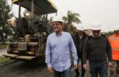 Tigre / Massa y Zamora recorrieron las obras que lleva adelante el municipio