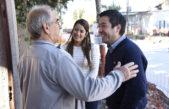 M. Argentinas / Tras el triunfo en las PASO, Nardini y Sol Jimenes recorrieron obras en Pablo Nogués