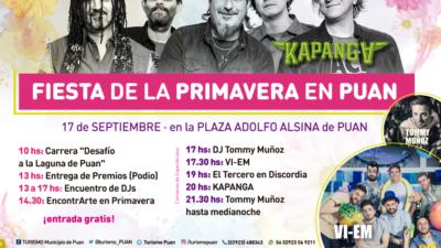 Puan se prepara para festjar con Kapanga, Vi-EM y Dj Tommy Muñoz la fiesta de la primavera