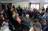 La Plata / Salvarezza visitó la capital provincial y escuchó a científicos y autoridades universitarias