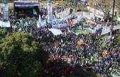 """Movilización a Plaza de Mayo: """"Nosotros también queremos un cambio"""", dijo Schmid"""