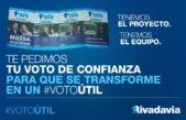"""Rivadavia / Con el 60% del voto opositor desperdigado, #1País llama a realizar un """"voto útil"""" en octubre"""