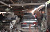 Gral Rodríguez / Allanan y secuestran 8 autos, armas y autopartes adulteradas