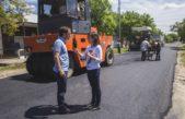 Campana / El municipio completó la segunda etapa del plan de reasfaltado de calles