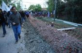 """Lo anunció el intendente, """"después de 20 años"""" el municipio vuelve a construir cloacas en Escobar"""