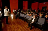 """La Plata / Garro inauguró el cine solar y destacó que """"permite generar conciencia ambiental"""""""