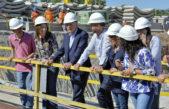 Macri, Vidal y Tagliaferro recorrieron las obras de soterramiento del ferrocarril sarmiento en Haedo