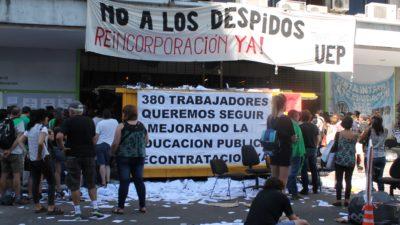 380 trabajadores en la calle: Se disolvió la UEP, encargada de controlar las obras en las escuelas públicas