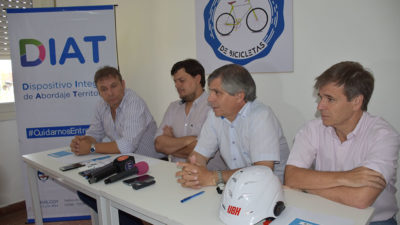 Chivilcoy / El municipio y Sedronar presentaron un taller de reparación de bicicletas para uso p´