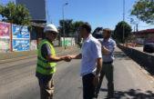 """El intendente Tagliaferro saca pecho por el Puente Lebensohn: """"Nadie en la historia de Morón hizo una obra así"""""""