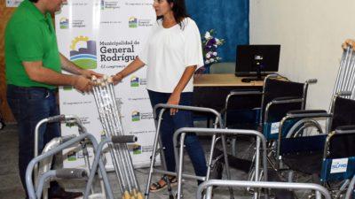 Gral Rodríguez / Se inauguró un Centro Ortopédico para quienes no cuenten con obra social