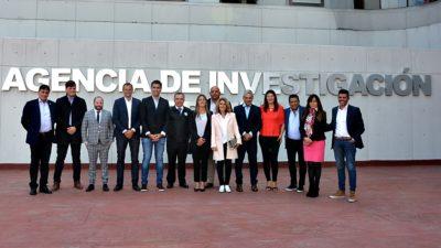 Legisladores bonaerenses visitaron organismos de seguridad en México