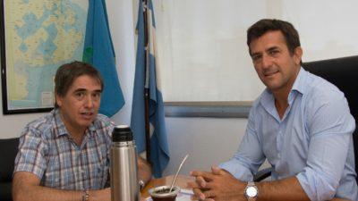 Gribaudo y Lorenzino abordaron trabajar en conjunto para mejorar el sistema de atención