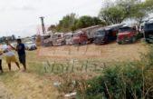 """Tensión en Puerto Quequén / Transportistas contra Rojas temen represión """"Es el culpable de todo esto"""""""