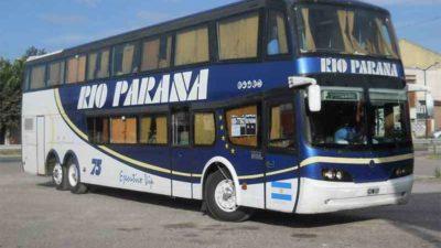 La UTA y Río Paraná llegaron a un acuerdo y los micros volvieron a las rutas