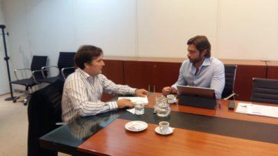 Gral Rodríguez / Kubar se reunió con el Jefe de Gabinete Salvai y exigió el inicio de obras planificadas por la Provincia