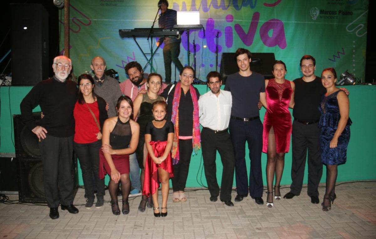 Más de 200 artistas participaron de verano activo en Bolívar