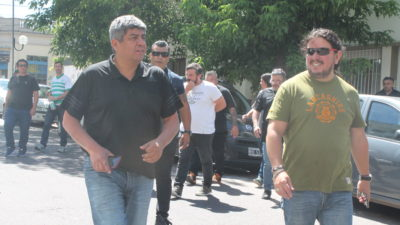 """Pablo Moyano contra la cúpula de la CGT: los acusó de """"entregar a los trabajadores a la reforma de Macri"""""""