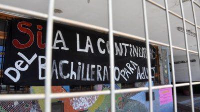Vidal dio marcha atrás y reabre la inscripción a los Bachilleratos de Adultos en toda la Provincia