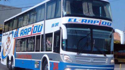 Crisis en micros de larga distancia: El Rápido y el Río Paraná están paralizadas