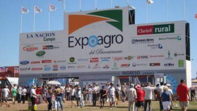 ExpoAgro la feria más grande de Argentina prepara la 12º edición con más de 300 expositores y esperan más de 150 mil personas